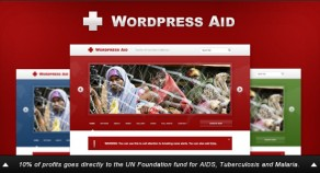 WordPress援助:慈善+博客主題