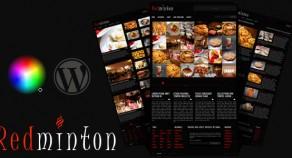 Redminton——餐廳WordPress主題