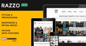 Razzo 頂級優質 企業商務 / eCommerce WordPress 網站版型主題