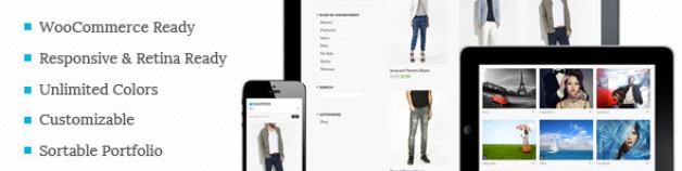 Shopster – 視網膜螢幕技術 響應式技術WooCommerce 網站版型主題