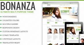 Bonanza – 響應式技術多用途 WordPress 網站版型主題