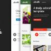 可愛的——多用途Joomla模板
