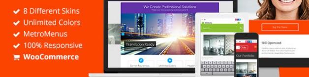 3Clicks | 響應式技術多用途 WordPress 網站版型主題