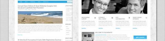 企業——清潔業務Joomla模板
