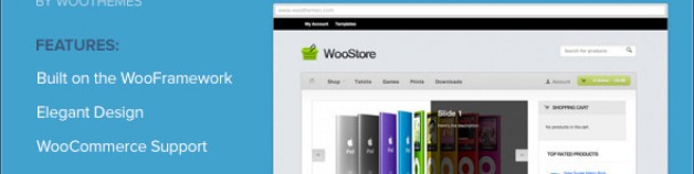 Woostore WooCommerce 網站版型主題