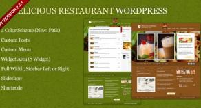 美味餐廳WordPress