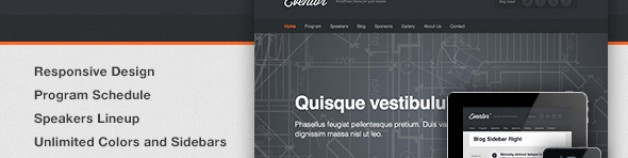 Eventor -事件管理WordPress主題