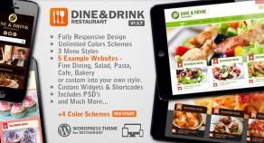 吃飯和喝——餐廳響應WP主題