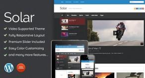太陽能-視頻WordPress主題