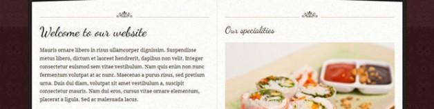 Te Contei -逐浪1.6餐廳模板