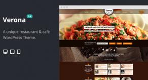 維羅納Restaurant&Cafe響應WordPress主題