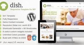 菜餐廳多用途的WordPress主題