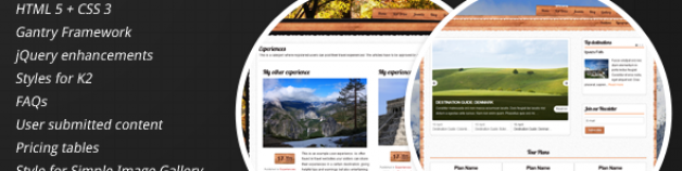 Castor -高端旅游Joomla模板