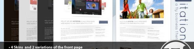 Levitation WordPress 企業商務 & 產品作品展示 – 4 in 1