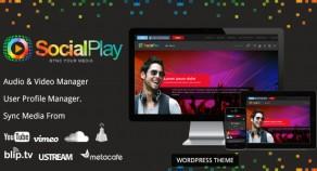 SocialPlay——媒體分享WordPress主題