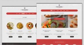 Terramia——經典的WordPress主題餐廳