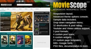 MovieScope -響應WordPress門戶主題