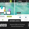 rexaneo -響應的多用途HTML5模板