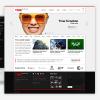 時間-響應網站模板